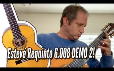 New Video! Esteve Requinto 6 008 Cedar Top – DEMO 2 / Calido Guitars