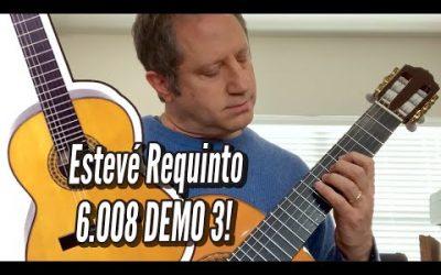 New Video! Esteve Requinto 6 008 Cedar Top – DEMO 3 / Calido Guitars