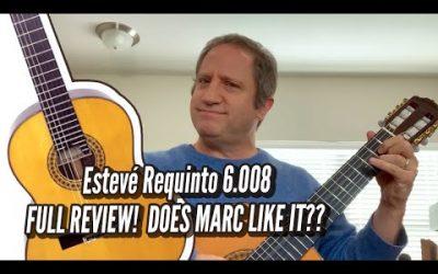 New Video! FULL REVIEW – Esteve Requinto 6 008 Cedar Top / Calido Guitars