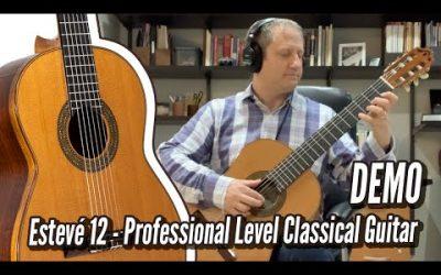 New Video! Esteve Model 12 Cedar Bach Prelude