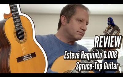 New Video! Esteve Requinto 6008 Spruce
