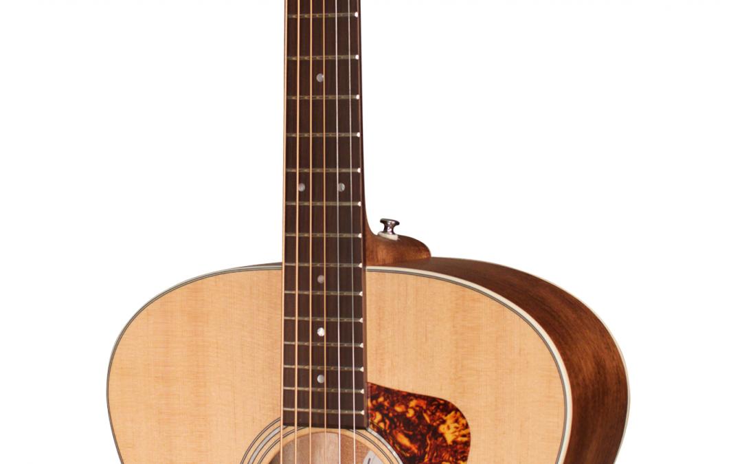 Guild BT-240E Baritone Acoustic Electric Guitar – Natural