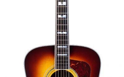 Guild D-55 ATB – Antique Sunburst Acoustic Dreadnought Guitar – Includes Guild Premium Humidified Hardshell Case
