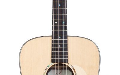 Kremona R30-E – Dreadnought Steel String Acoustic Guitar – Solid Spruce top, Solid Indian Rosewood back/sides, Handmade in Bulgaria, Includes Deluxe Hardshell Case