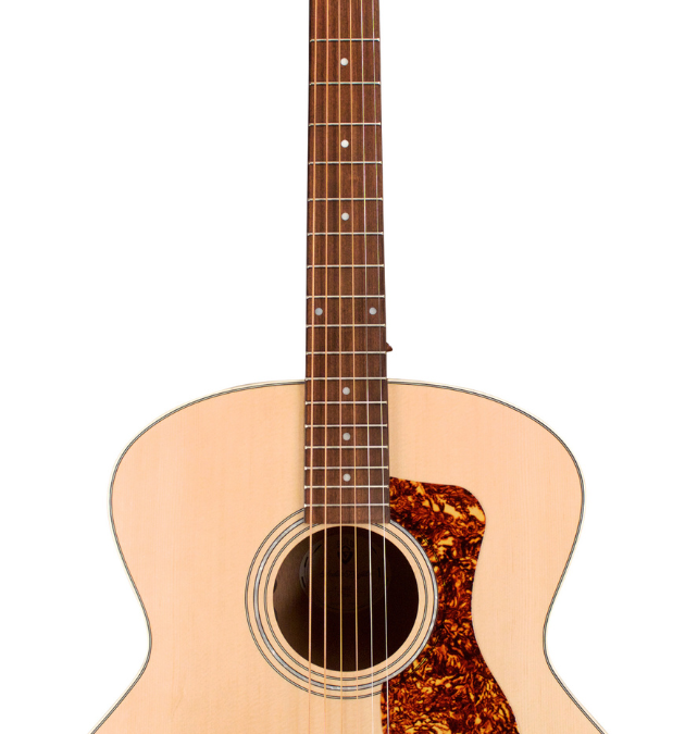 Guild F-240E – Jumbo Acoustic Electric – Solid Spruce Top, Mahogany Back/Sides