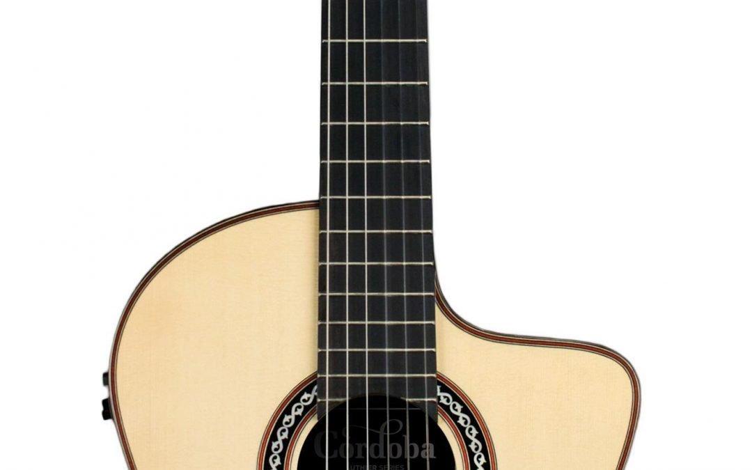 Cordoba GK Pro Negra Lefty – Gipsy Kings Signature – Professional Acoustic Electric Flamenco Guitar