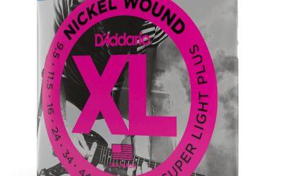D'Addario 9.5-44 Super Light Plus Set – EXL120+