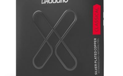 D'Addario XT – SILVER PLATED WRAP XT DYNACORE, CARBON TREBLES, Normal Tension Set – XTC45FF
